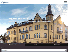 Tablet Preview of hotelregatta.fi